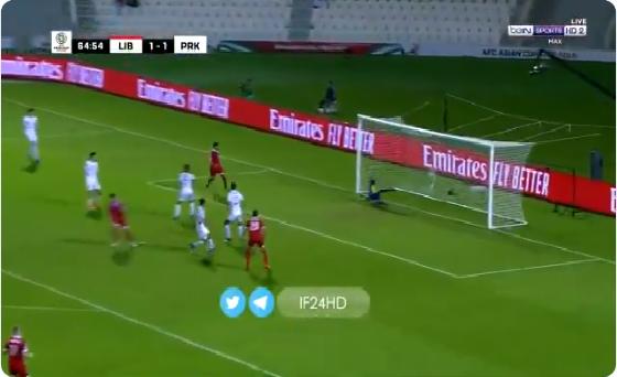 بالفيديو.. المنتخب اللبناني يسجل الهدف الثاني في مرمى كوريا الشمالية