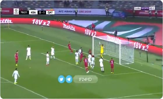 بالفيديو.. المنتخب القطري يسجل الهدف الثاني في مرمى السعودية
