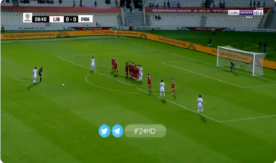 بالفيديو.. كوريا الشمالية تسجل الهدف الأول في مرمى لبنان