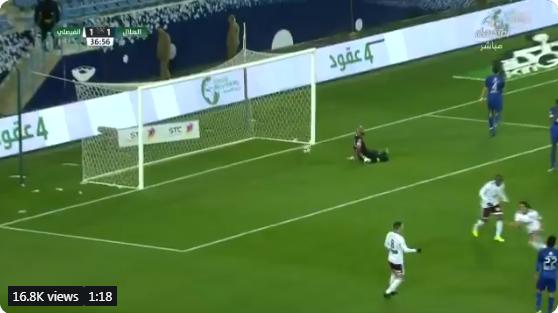 بالفيديو..الفيصلي يحرز الهدف الثاني في مرمى الهلال