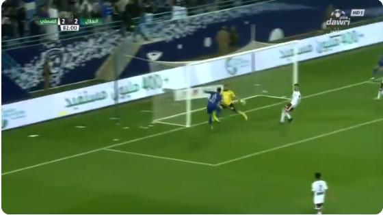 بالفيديو..ريفاس يسجل الهدف الثالث في مرمى الفيصلي