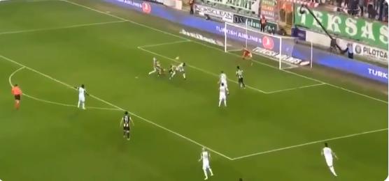 """شاهد.. لاعب ريال مدريد يسجل هدفاً رائعاً بتسديدة """"مقصية"""" مع فنربختشة"""