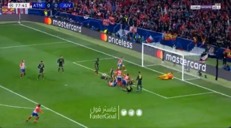 بالفيديو.. خيمينيز يسجل الهدف الأول لـ اتلتيكو مدريد في شباك اليوفنتوس