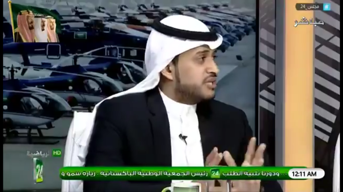 بالفيديو..تركي الغامدي: لا ينافس الهلال الا فريق الهلال B و فريق النصر