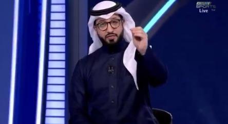"""بالفيديو.. تعليق مثير من """"الشديد"""" على لقطة مغادرة محمد الشلهوب!"""
