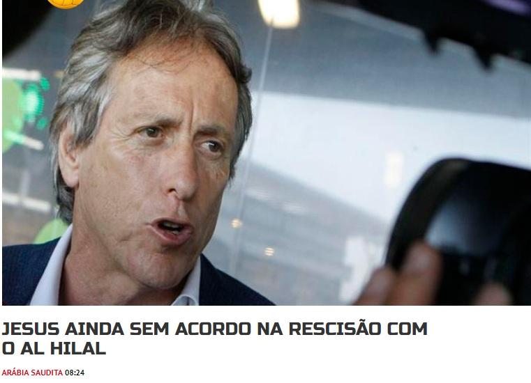 برتغالية تُفجر مفاجأة وتؤكد : جيسوس لن يرحل عن الرياض إلا في هذه الحالة !
