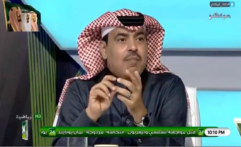 بالفيديو.. الجماز : لا يهمني هبوط نادي الاتحاد!