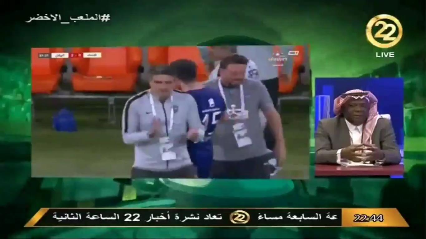 بالفيديو..سلطان الخميس: مدرب الاتحاد ريح الهلال بعدم مشاركة هذا اللاعب !