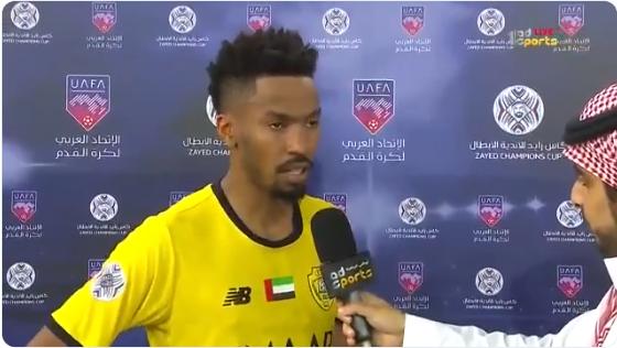 بالفيديو..تعليق مثير من سلمان المؤشر عقب الفوز على الوصل الإماراتي