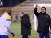 مدرب النصر يطلب من لاعبيه الابتعاد عن هذا الشيء قبل ديربي الرياض !