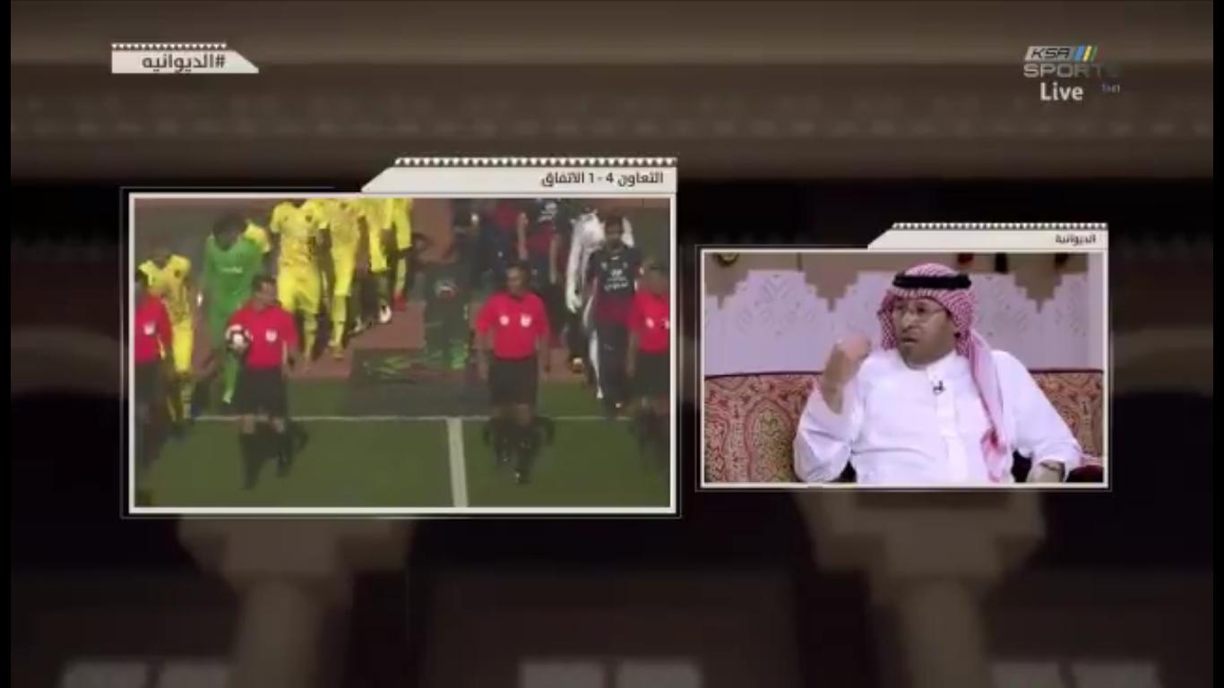 بالفيديو..خالد الزيد: هذا الفريق منظومة متكاملة ..وهو نموذج مثالي للفريق الثابت هذا الموسم!