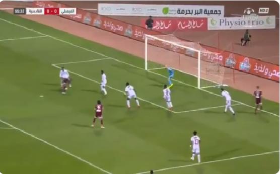 بالفيديو.. الفيصلي يسجل الهدف الأول في مرمى القادسية!