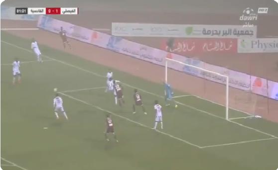 بالفيديو.. الفيصلي يسجل الهدف الثاني في مرمى القادسية