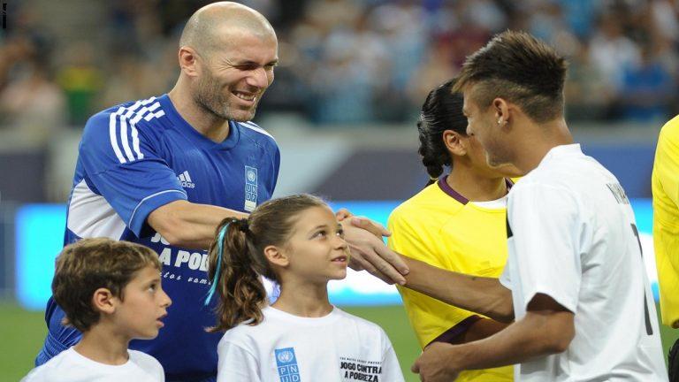 زيدان يرفض تعاقد ريال مدريد مع نيمار!