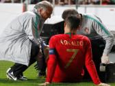 تطور هام حول إصابة كريستيانو رونالدو