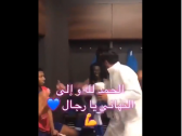 بالفيديو..رئيس الهلال يحتفل مع اللاعبين في غرفة الملابس عقب التأهل