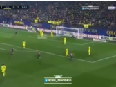 بالفيديو..برشلونة يضيف الهدف الثاني في مرمى فياريال