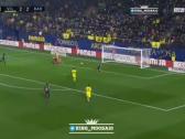 بالفيديو..فياريال يسجل الهدف الثالث في شباك برشلونة