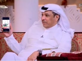 """بالفيديو..صالح الداوود يكشف عن صور قديمة لـ """"محمد عبدالجواد """".. والأخير يتوعد على الهواء"""