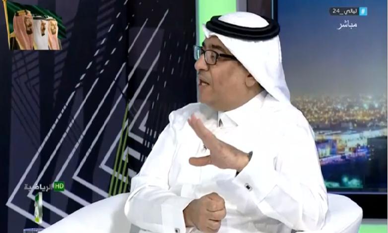 """بالفيديو.. سليمان الجعيلان: أفضل لاعب صاعد هو """"متعب المفرج""""!"""