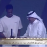"""بالفيديو.. """"محمد كنو"""" يحصل على جائزة أفضل لاعب سعودي"""