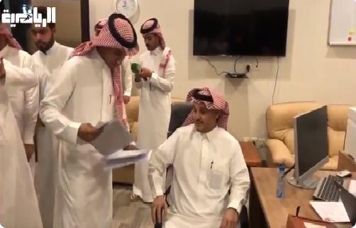 بالفيديو.. موسى الموسى يتقدم بملفه الانتخابي لرئاسة نادي الهلال
