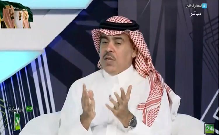 """بالفيديو.. الجماز : المشهد النصراوي الحالي ليس له إلا عنوان واحد """" يبحثون عن التكليف""""!"""