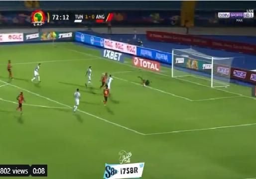 بالفيديو.. أنغولا يسجل هدف التعادل في مرمى تونس