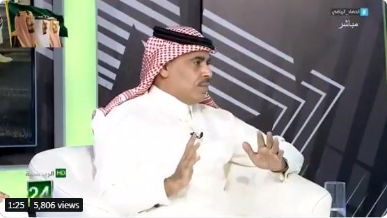 بالفيديو..الجماز : بعد انسحاب سعود السويلم القلق الذي كان في الهلال اصبح في النصر!