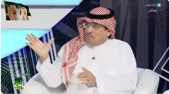 بالفيديو..الدويّش :هل يمكن لهلالي ان يشترك في الجمعية الخاصة بنادي النصر او العكس؟