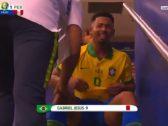 شاهد : البرازيلي جيسوس يبكي بعد طرده أمام البيرو