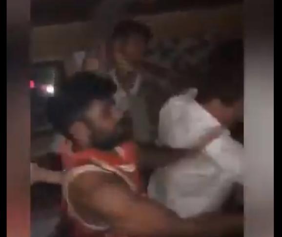 الهجوم على صديق ماكغريغور في ملهى ليلي (فيديو)