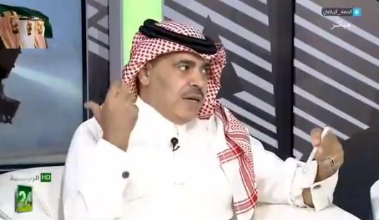 """بالفيديو.. """"الجماز"""": """"عبدالرحمن الحلافي"""" الرئيس الفعلى للنصر!"""