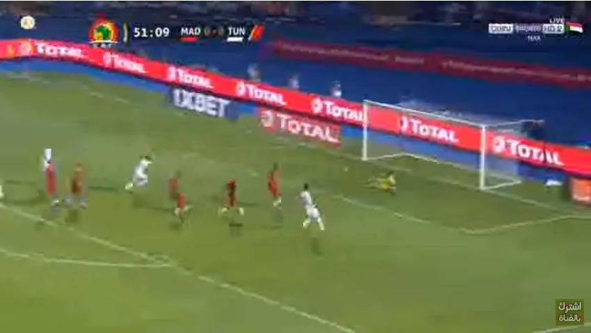 بالفيدبو..فرجاني ساسي يسجل الهدف الأول لمنتخب تونس في مرمى مدغشقر