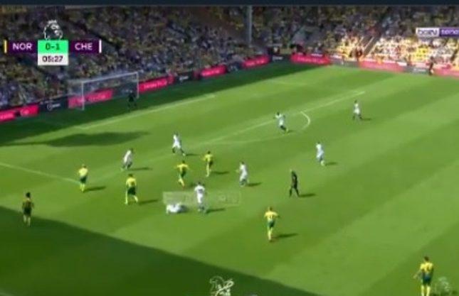 بالفيديو.. نوريتش سيتي يسجل هدف التعادل ضد تشيلسي