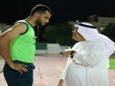 «منصور بن مشعل» يوضح كواليس جلسته مع السومة بعد رغبته في الرحيل