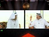 """بالفيديو.. السماري : أسطورة الكرة السعودية """"سامي الجابر"""".. وجستنيه يرد """"على الورق """"!"""