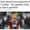 صحفي برازيلي يحاول إيقاف صفقة انتقال كويلار إلى الهلال