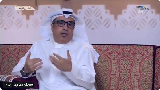بالفيديو..مساعد العبدلي :  اللاعبين الأجانب لا يعرفون هيبة الهلال