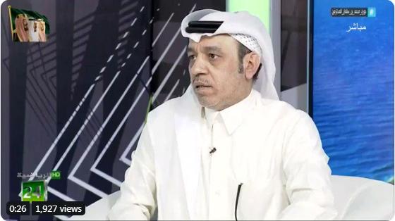 بالفيديو.. محمد الذايدي يهاجم حكم مباراة التعاون والحزم