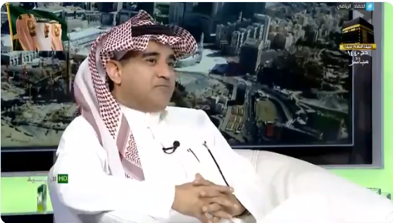 """بالفيديو..الغامدي : أشكر الزميل """"محمد الذايدي"""" على غيرته على النصر..والأخير يرد"""