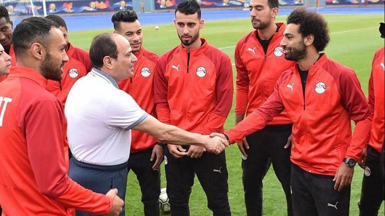 فرمان رئاسي يحسم ملف المنتخب المصري