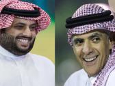 """آل الشيخ يتفاعل مع تغريدة لرئيس الاتحاد السابق """"لؤي ناظر""""!"""