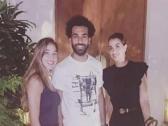 محمد صلاح يلتقي بمسؤول برشلونة في دبي