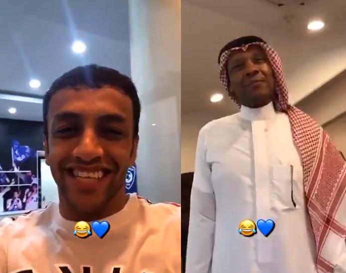 بالفيديو..محمد الشلهوب يروي قصة كسره ليد الدعيع