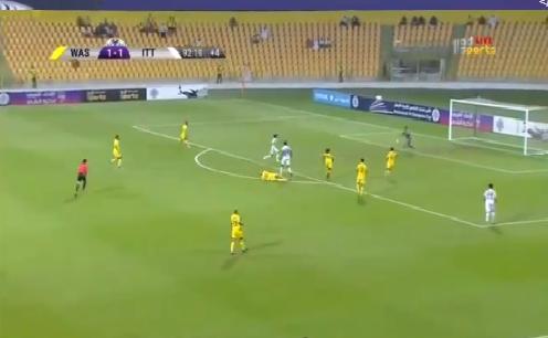 بالفيديو.. رومارينهو يسجل الهدف الثاني للاتحاد في مرمى الوصل بالدقائق الأخيرة من المباراة!