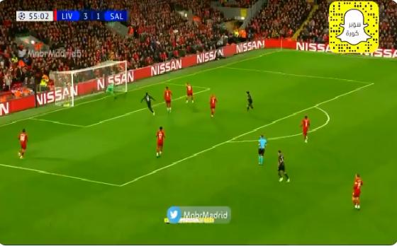 بالفيديو.. ساليزبورج يسجل الهدف الثاني في شباك ليفربول