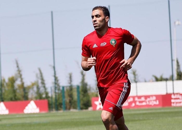 """مدرب المغرب يفجر مفاجأة بشأن سبب غياب """"حمدالله"""" عن صفوف أسود الأطلس"""