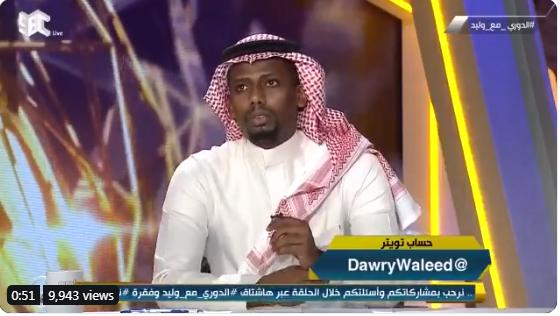بالفيديو..حمد المنتشري: وضع الاتحاد لا يسر أحد والسبب في المدرب!