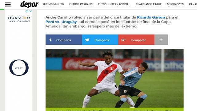 """صحيفة بيروفية: محترف الهلال """"كاريلو"""" يتلقى رسالة تحذير !"""